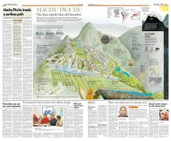 Machu Picchu Map A Regular Friday In Machu Picchu Peru Papertowns