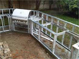 prefab outdoor kitchen island wonderful aluminum outdoor kitchen frames with modular outdoor