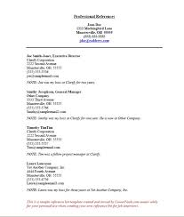Sample Reference In Resume References For Job Interview Coinfetti Co