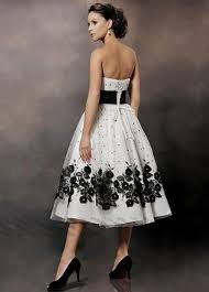 black and white wedding dresses black and white wedding dresses plus size tea length naf dresses