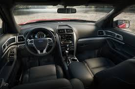 Ford Edge Interior Pictures 2015 Ford Explorer Gets