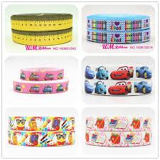 ribbon wholesale q n ribbon wholesale oem 7 8inch 22mm ruler printed school style