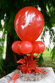 Balloons On Sticks Centerpiece by Stick Cup Sets For 12