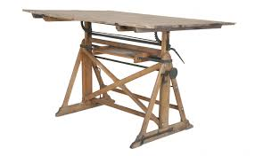 Iron Drafting Table Furniture Wood Drafting Desk Antique Drafting Table Stacor