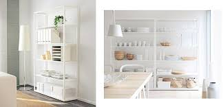Ikea Modular Bookcase Ikea Shelves To Decorate And Organize Your Home Homperfect