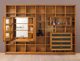 Wall Unit Bookshelves - modern open shelving storage display wall unit bookshelf cabinet