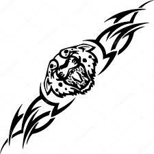 jaguar clipart jaguar and tribals vector illustration u2014 stock vector digital