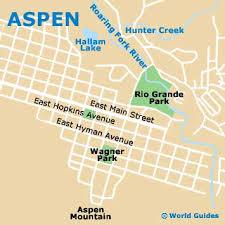aspen map aspen maps and orientation aspen colorado co usa