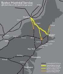 new england central railroad map connecting montréal to the american rail network the transport politic
