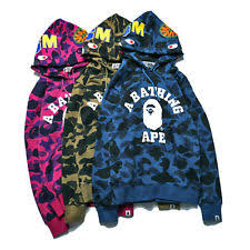 bape sweats and hoodies for men ebay