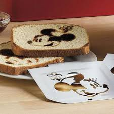 sted breakfast bread mickey mouse toaster