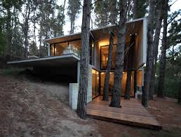 small cabin in the woods franz house bak architects archdaily