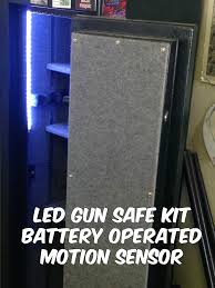 strips of led lights gun safe battery operated motion activated led strip light kit