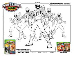 power rangers dino charge coloring mama likes