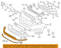 ford focus suspension diagram ford oem 15 16 focus bumper spoiler valance panel lip chin