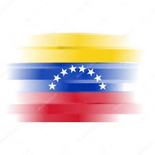Flag Venezuela Abstract Flag Of Venezuela On White Background U2014 Stock Photo