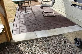 Cheap Patio Flooring Ideas Outdoor U0026 Patio Awesome Paver Patio For Your Outdoor Patio Ideas