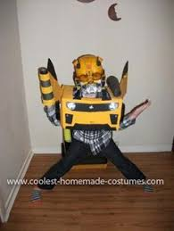 Bumblebee Transformer Halloween Costume Transformer Bumble Bee Costume Bumble Bee Transformer