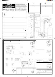 hitachi air conditioner ras 35yh6 user guide manualsonline com