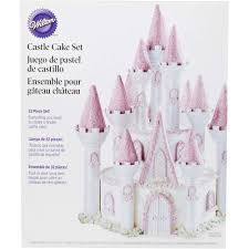 romantic castle cake set wilton