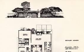 eichler house plans eichler homes floor plans lovely dc hillier s mcm daily joseph