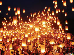 lantern kites sky lanterns light up iloilo sky set world record inquirer net