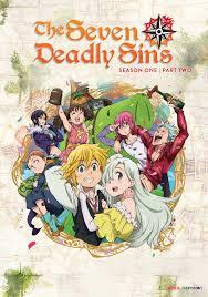 seven deadly sins deadly sins season 1 part 2 dvd