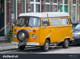 van volkswagen vintage rotterdam netherlands sep 6 2017 vw stock photo 714405724