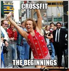 Richard Simmons Memes - crossfit meme google search working out funny pinterest