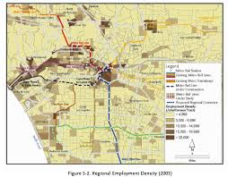 Los Angeles Public Transportation Map by For Your Viewing Pleasure Density Maps Overlaid With Transit