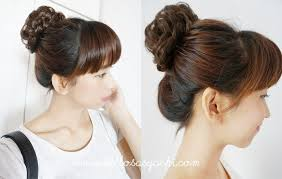 model sanggul rambut pendek 7 gaya rambut wanita yang bikin gak jomblo area wanita