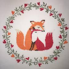 Fox Home Decor by Home Decor Crosstitchery