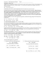 hess u0027 law worksheet 4 15