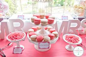 Pink Wedding Candy Buffet by Letter Wedding Candy Tables Pink U0026 White Wedding Candy Buffet At