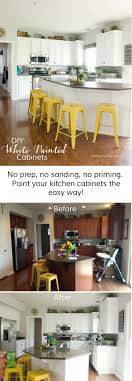 Top  Best Painting Cabinets Ideas On Pinterest Kitchen - Pros and cons of painting kitchen cabinets with chalk paint