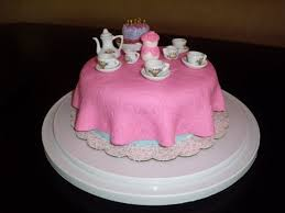 tea party table tea party table cake cakecentral