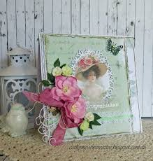 sew creative shabby chic cards