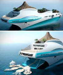 tropical island paradise luxury overboard private yacht as tropical island paradise