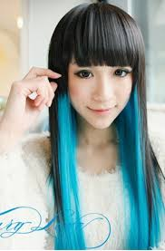 new hairstyle hairpunk fashions harajuku asian girls long hairstyle