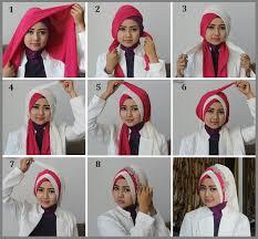 tutorial hijab syar i untuk pernikahan hijab cantik untuk acara formal hijab style 6