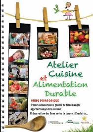 guide atelier cuisine et alimentation durable réseau ecole et