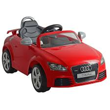 kids audi tt rs 6v childrens electric ride on kids toy car only
