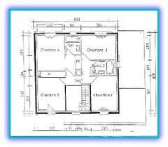 plan etage 4 chambres 4 quatre chambres à l étage