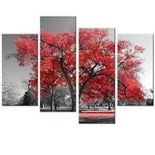 Landscape Canvas Prints by Pyradecor Peace 3 Panels Black And White Landscape Giclee Canvas