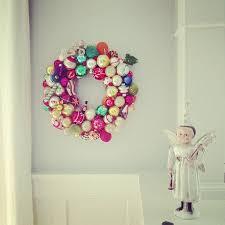 recycled vintage ornament wreath diy allen designs studio