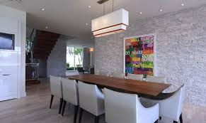 Modern House Dining Room - custom modern home by phil kean designs designing idea