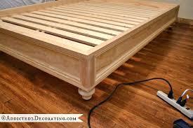 Raised Platform Bed Raised Mattress Frame Strong And Tough Platform Bed Diy Raised Air