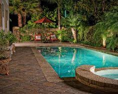 Pool Landscape Small Yard Home Pinterest Yards Landscaping - Pool backyard design