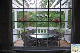 Screened In Pergola by Building A Screened In Porch