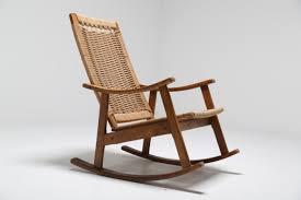 Broken Rocking Chair Vintage Hans Wegner Style Rocking Chair